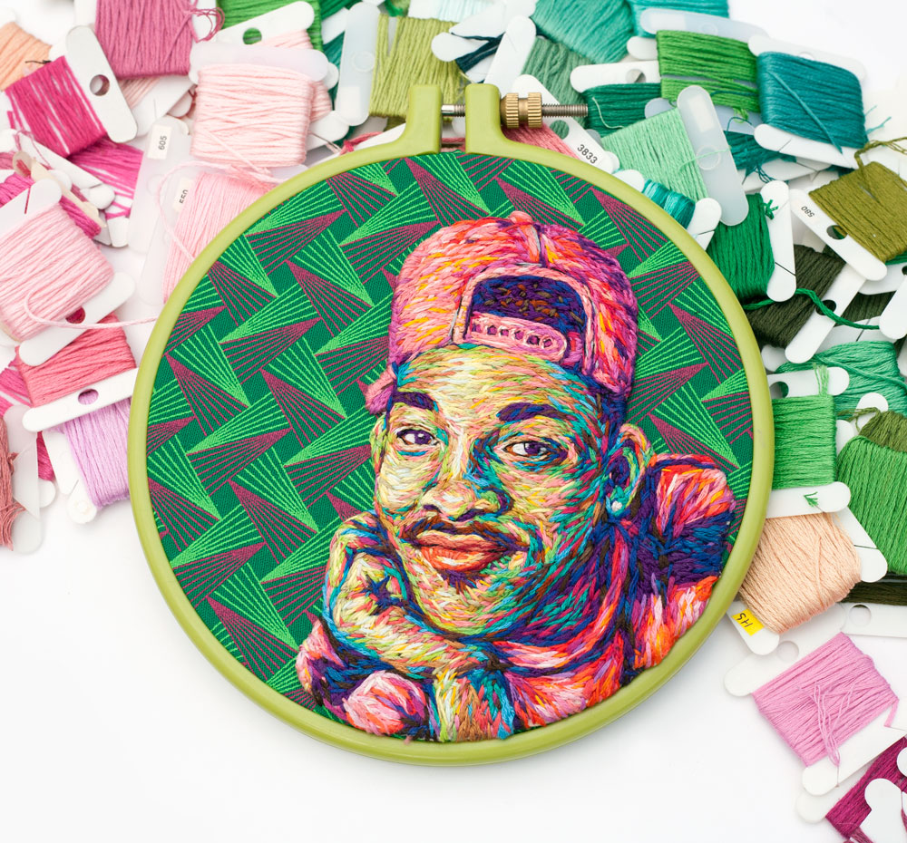 will smith, embroidery, danielle clough